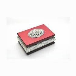Rectangular Stylish Silver Box
