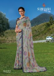 9622-Brasso Fancy Saree With Blouse