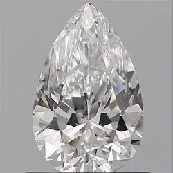 0.62 Pear F VVS2 GIA Certified Natural Diamond
