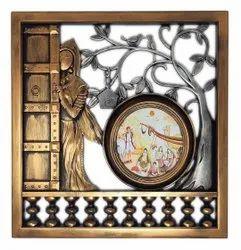 Plastic Mix Antique Photo Frame, For Decoration, Size: 39 X 2 X 39 Cm