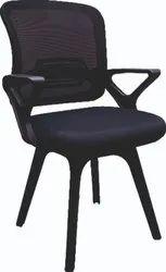 Foam SARA PP Cafe Chair, Black