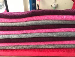 Trident Plain Cotton Bath Sheet, For Bathroom, Size: 40X70