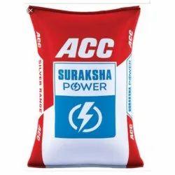 ACC Suraksha Power Cement.