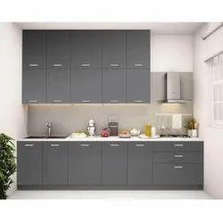 Modern Straight Kitchen