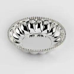 Fluted Silver Bowl Set