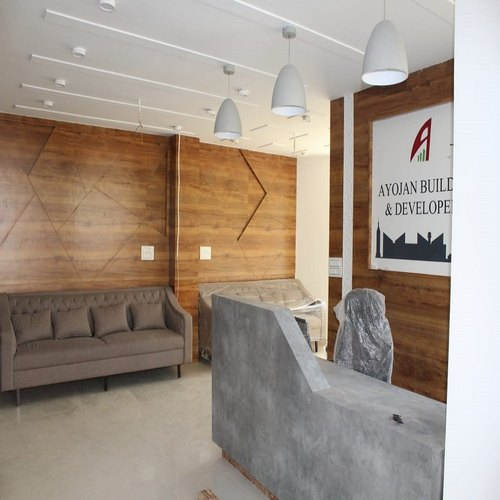 Reception Area Interior Designing Services