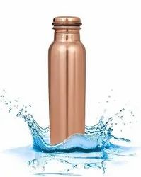 Lacquer Finish Copper Water Bottle 1 Liter
