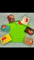 non brand Cotton biowash collar neck t shirts, Age Group: 18 To 44