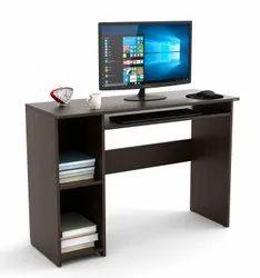 BLUEWUD Mallium Engineered Wood Study Table, Laptop, Computer Table Desk (Wenge) Standard