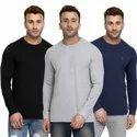 Male Cotton Corporate Plain T Shirts