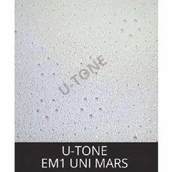 Emi Uni Mars PVC Laminated Gypsum Ceiling Tiles