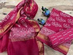 bhkp A-Line Maheshwari Silk Suit
