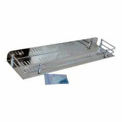 Helly Silver SS Bathroom Rack