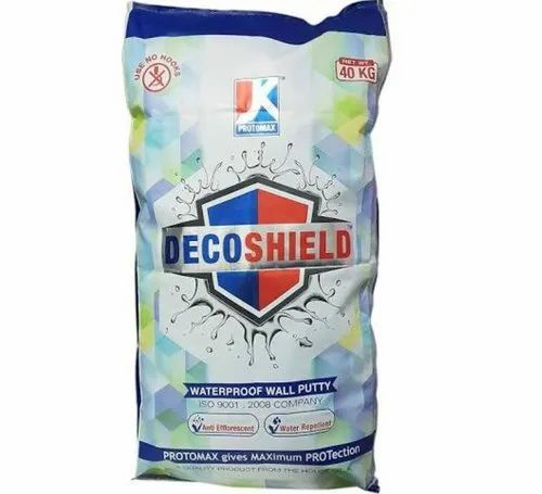 Jk Deco Shield Waterproof Wall Putty For Interior Exterior Rs 25 Kg Id 22961380873
