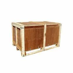 Rectangular Rubber Wood Wooden Packaging Pallet Box, Capacity: 100 Kg