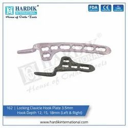 Locking Clavicle Hook Plate 3.5mm