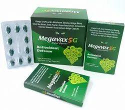 Omega 3 Fatty Acids L-Glutathione Ginseng Ginko Biloba  Green Tea Extrct , Grape Seed Extrct