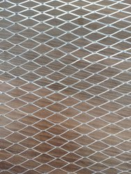 0.3 Mm And 0.4 Mm Galvanized Iron GI Plaster Mesh, For Defence
