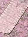 Jaipur Kurti Purple Embroidered Printed Straight Kurta With Pants