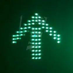 Green LED Traffic Signal Arrow Light