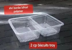 Sbbp 2 Compartment Biscuits Tray