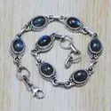 Tiger Eye Gemstone 925 Silver Fashion Jewelry Bracelet SJWBR-5