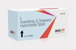 Aceclofenac Drotaverine Tablets
