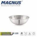 Magnus Triply Induction Tasla, 180mm, Silver, Steel - Aluminum - Steel TRI PLY Technology, 1.4 litre