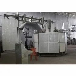 Moving Oven Bi Axial Rotational Moulding Machine