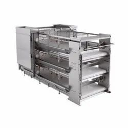 Cage Equipment for Broilers Growing Model