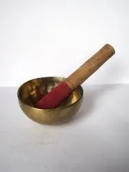 Brass Singing Bowl For Meditation & Healing