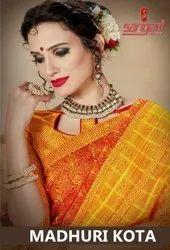Sangam Prints Madhuri Kota Designer Printed Saree Catalog