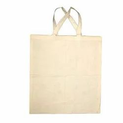 Handled Natural Cotton Cloth Bags, Capacity: Upto 10 Kg, Size/Dimension: 16*18
