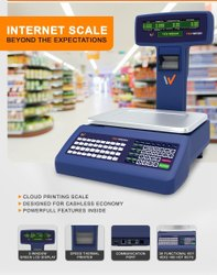 Cloud Connecting with WIFI POS Digital Weighing Scale for Retail 30KG