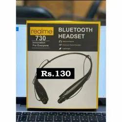 Wireless Black Realme HBS-730 Bluetooth Headset
