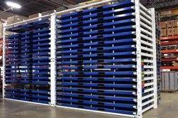 Mild Steel Sheet Metal Storage Rack