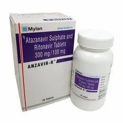Anzavir R 300 Mg 100 Mg Tablet