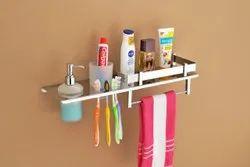 Stainless Steel 4 In 1 Multipurpose Bathroom Accessories - Liquid Soap Dispenser