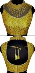 Gold-2 Hand Colar Blouse
