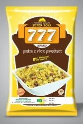 Rotogravure Plastic Laminated Poha Packing Pouch