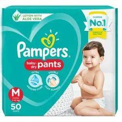 P&G Green Pampers Diaper Pants, Type Of Packaging: Pack