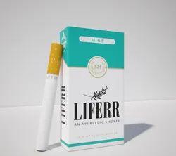 LIFERR - An Ayurvedic Smokes - 100% Tobacco & Nicotine Free Smokes - Mint
