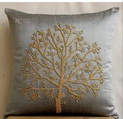Shiny Beaded Cushion Cover For Decoration