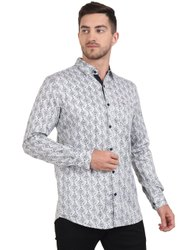 AADHAR Cotton Men Fashion Shirt, Size: M TO XXL