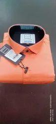 Spitzer Plain Men's Casual Wear Cotton Shirt, Machine wash