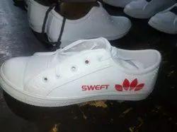 Men White Boys Casual Shoe, Size: 6 - 11