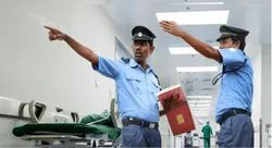 Corporate Male Security Services for Hospital