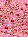 Jaipur Kurti Yoke Embroidered Straight Yarn Dyed Kurta