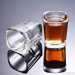 Shot Glass Great For Whisky Brandy Vodka And Tequila Shot Set Of 6 (35 Ml)