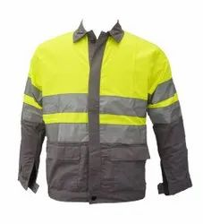 RCP Full Sleeves High Visibility Industrial Jacket, For Construction